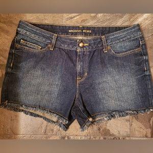 Michael Kors Shorts Women Denim Blue Size 4